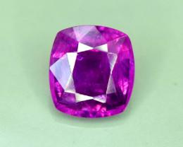 S#31-33 , Top Garde 1.0 ct Untreated Pink Corundum Kashmir Sapphire