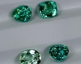 7.85Crt Green Spodumene Lot  Best Grade Gemstones JI01