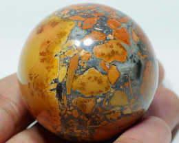 100 GRAM JASPER MALIGANO BALL NATURAL  AA GRADE GREAT PATTERN -G21-