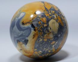 302 GRAM JASPER MALIGANO BALL NATURAL  AA GRADE GREAT PATTERN -G26-