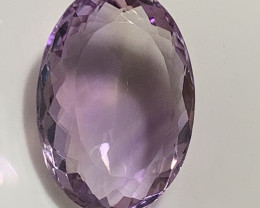 ⭐15.31ct Delightful Pale Rose de France Natural Amethyst