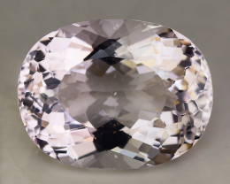 8.74 Cts Morganite Awesome Color and Luster Gemstone MG15