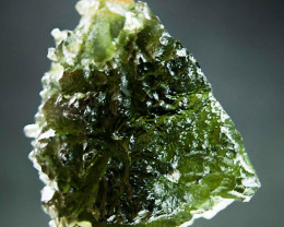 Excellent Shiny Big Natural Moldavite with CERTIFICATE