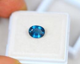 1.82ct Greenish Blue Kyanite Oval Cut Lot V3885