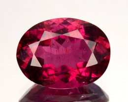 1.68 Cts Natural Rubelite Tourmaline Raspberry Pink Oval Mozambique