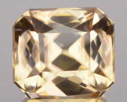 4.60 Cts Natural Imperial Color Zircon Radiant Cut Sri Lanka