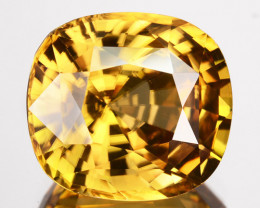 ~DAZZLING~ 6.05 Cts Natural Imperial Color Zircon Cushion Cut Sri Lanka