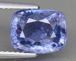 IGI Certified Natural Color Change Sapphire - 3.55 ct
