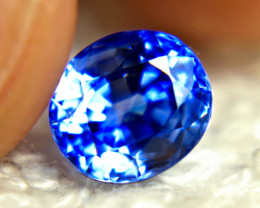 CERTIFIED - 2.0 Carat VVS Blue Sri Lanka Sapphire - Gorgeous