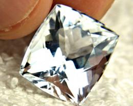 10.65 Carat Silver Blue VVS Himalayan Aquamarine - Gorgeous