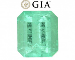 5.50 cts GIA Certified Colombian Emerald - Muzo Mine  $4,800