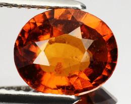 ~CINNAMON ORANGE~ 2.60 Cts Natural Hessonite Garnet Oval Sri Lanka