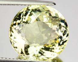 8.94 Cts Natural Mint Yellow Heliodor Beryl Aquamarine Oval Brazil