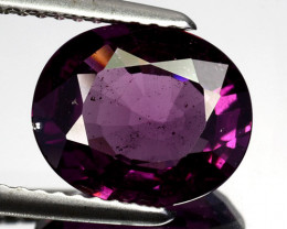 3.04 Cts Natural Purple Pink Garnet Oval Cut Mozambique