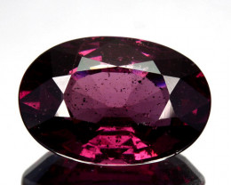 4.25 Cts Natural Purple Pink Garnet Oval Cut Mozambique