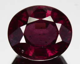 4.16 Cts Natural Purple Pink Garnet Oval Cut Mozambique
