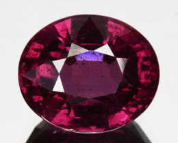 4.66 Cts Natural Purple Pink Garnet Oval Cut Mozambique