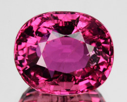 2.93 Cts Natural Sweet Pink Tourmaline Oval Cut Mozambique