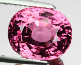 6.34 Cts Natural Pastel Pink Tourmaline Oval Cut Mozambique