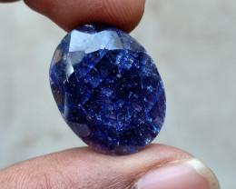 BIG NATURAL BLUE SAPPHIRE GEMSTONE Natural treated gem  VA2935