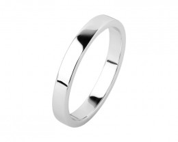 Plain Engagement Band 925 Sterling silver ring #31658