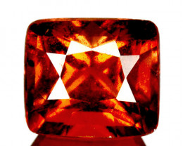 2.36 Cts Natural Hessonite Garnet Cinnamon Orange Square mix Cut Sri Lanka