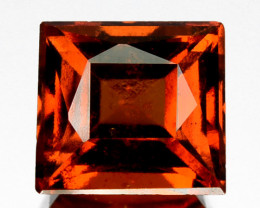 2.31 Cts Natural Hessonite Garnet Cinnamon Orange Square mix Cut Sri Lanka