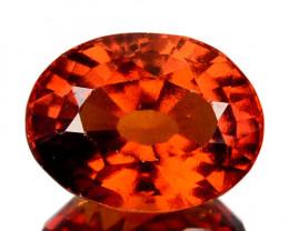 4.28 Cts Natural Hessonite Garnet Cinnamon Orange Oval Cut Sri Lanka
