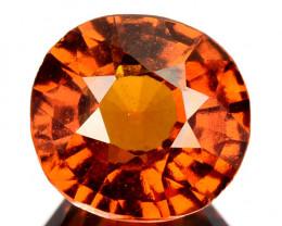 3.06 Cts Natural Hessonite Garnet Cinnamon Orange Oval Cut Sri Lanka