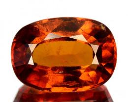 3.52 Cts Natural Hessonite Garnet Cinnamon Orange Oval Cut Sri Lanka