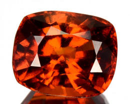 4.32 Cts Natural Hessonite Garnet Cinnamon Orange Cushion Cut Sri Lanka