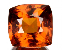 2.71 Cts Natural Hessonite Garnet Cinnamon Orange Cushion Cut Sri Lanka