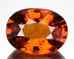 4.75 Cts Natural Hessonite Garnet Cinnamon Orange Oval Cut Sri Lanka