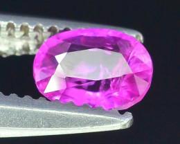 Top Clarity & Color Rarest Pink Corundum Sapphire~Kashmir