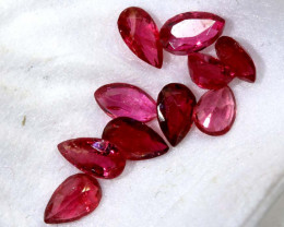 1.40 CTS SPINEL PIGEON RED FACETED  PG-2571