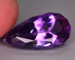 6.80 Ct Ravishing Color Natural Amethyst Amethyst Faceted Amethyst  ARA