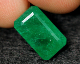 3.67cts Natural BIG SIZE Green Emerald /03
