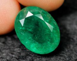 6.76cts Natural BIG SIZE Green Emerald /09