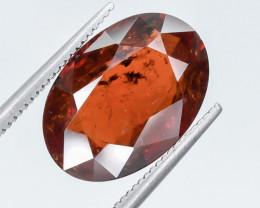 9.59 Crt Natural Spessartite Garnet Faceted Gemstone.( AG 1)