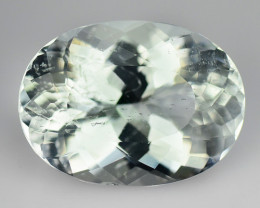 3.34 Ct Natural Aquamarine Sparkling Luster Gemstone AQ2