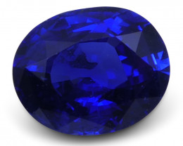 1.18 ct Blue Sapphire Oval GIA Certified