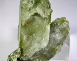 321.70  CT Natural - Unheated Green Quartz Crystal Specimen