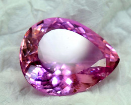 Next bid wins 70.45 Carats Natural Deep Pink Color Kunzite Gemstone