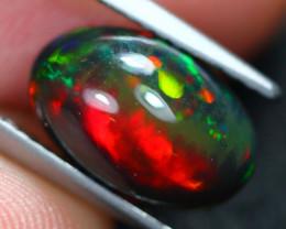 2.02Ct Natural Bi-Pattern Ethiopian Welo Smoked Opal E1011