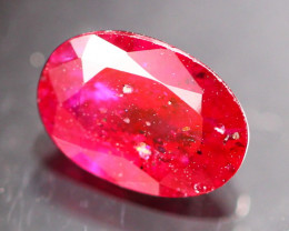 1.01Ct Natural Heated Only Mozambique Red Ruby  B1002