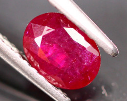 0.75Ct Natural Heated Only Mozambique Red Ruby  B1011