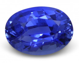 1.03 ct Blue Sapphire Oval GIA Certified Unheated, Sri Lanka