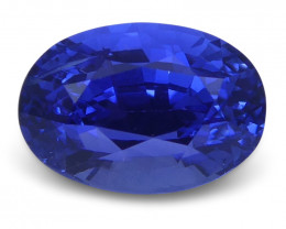 1.14 ct Blue Sapphire Oval GIA Certified Unheated