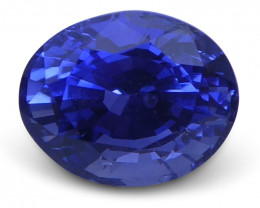1.08 ct Sapphire Oval GIA Certified Unheated, Sri Lanka