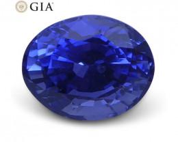 1.08 ct Sapphire Oval GIA Certified Unheated, Sri Lanka